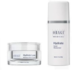 Obagi Hydrate Luxe-Moisture Rich Cream and Obagi Hydrate Facial Moisturizer