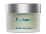 Exuviance SkinRise Bionic Tonic reveals a radiant complexion with enhanced clarity, smoothness and firmness with an anti-aging treatment toner that also protects the skin against free radicals.