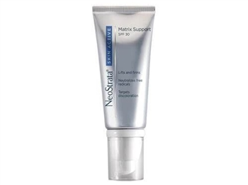 NeoStrata Skin Active Matrix Support SPF 30 is formulated to synergistically help support skin's matrix and reduce the appearance of uneven pigment for firmer, smoother, more luminous skin.