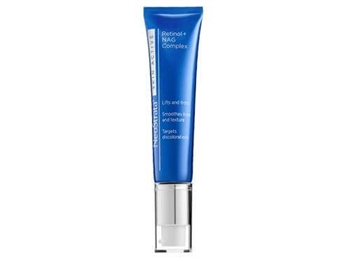 NeoStrata Skin Active Retinol + NAG Complex is a high strength complex which delivers 0.5% pure, stabilized Retinol along with NeoGlucosamine (NAG) to amplify and intensify the volumizing and firming effects versus Retinol alone.