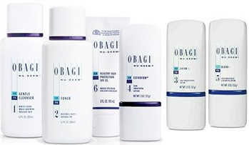 Obagi Nu-Derm Fx system for dry skin to improve signs of aging for healthier, more beautiful looking skin.