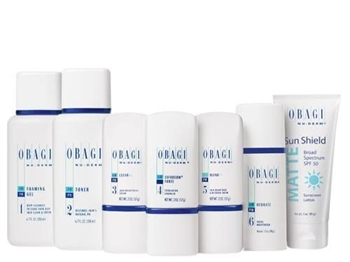 Obagi Nu-Derm Fx System for Normal to Oily is formulated to improve signs of aging for healthier, more beautiful looking skin by minimizing age spots, fine lines and wrinkles, roughness, sagging, redness and uneven, dull complexion, and discoloration.