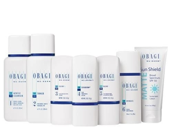 Obagi Nu-Derm Fx System Normal to Dry is formulated to improve signs of aging for healthier, more beautiful looking skin by minimizing age spots, fine lines and wrinkles, roughness, sagging, redness and uneven, dull complexion, and discoloration.
