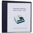 Instruction Manual for 2430 & 2430E Multi-OSMETTE