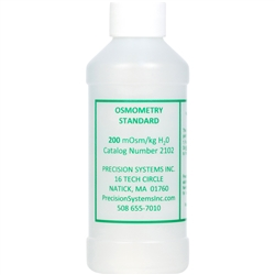 Standard Solution, 200 milliosmoles, 250 ml bottle