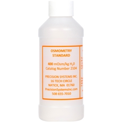 Standard Solution, 400 milliosmoles, 250 ml bottle