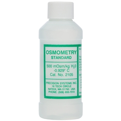 Standard Solution, 500 milliosmoles, 125 ml bottle