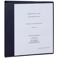 Instruction Manual for CRYETTE A Model 5006, Milk Cryoscope