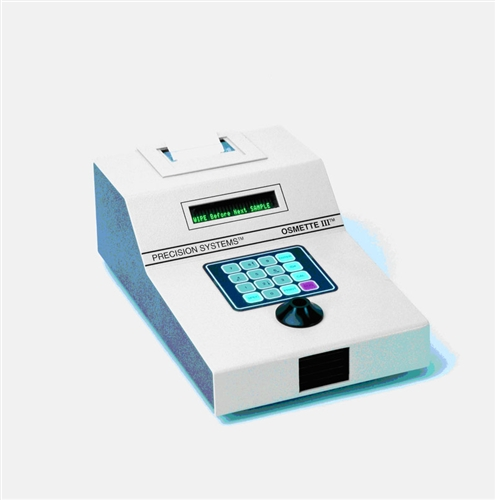 5010 osmette iii fully automatic 10 l osmometer rh precisionsystemsinc com Osmometer Steps Osmometer Steps
