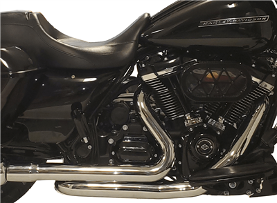 TAB Performance 2-into-2 exhaust head pipe for a harley-davidson touring fl bagger