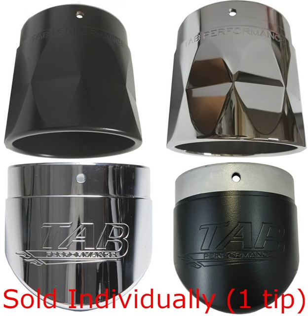 TAB Performance 4 Inch Exhaust Tips