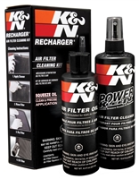 high performance air filter cleaning and re-oiling kit