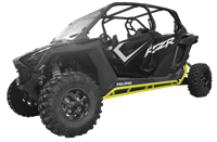 Polaris Pro XP RZR Rock Slider