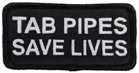 "TAB Performance ""TAB PIPES SAVE LIVES"" Patch"