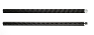 "20"" Stage One Extension Set, Carbon Fiber Rails"