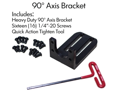Pan Tilt 90 Degree Axis Bracket