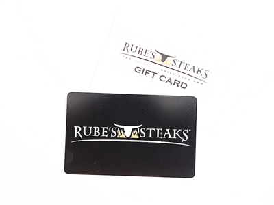 Rubes Gift Card