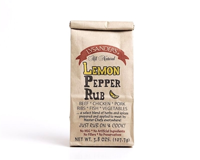 Lysanders Lemon Pepper Rub
