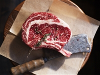 Dry-aged bone-in ribeye 20 oz