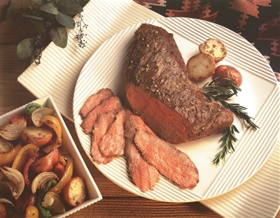 Top Sirloin, Tri-Tip and New York Strip. Tri-Tip photo courtesy Certified Angus Beef.