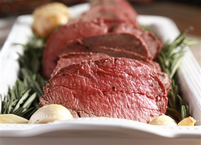 Garlic pepper beef tenderloin recipe
