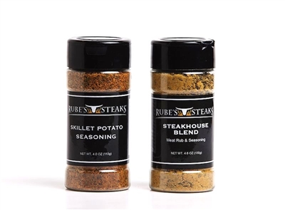 Rube's Signature Seasoning Duo