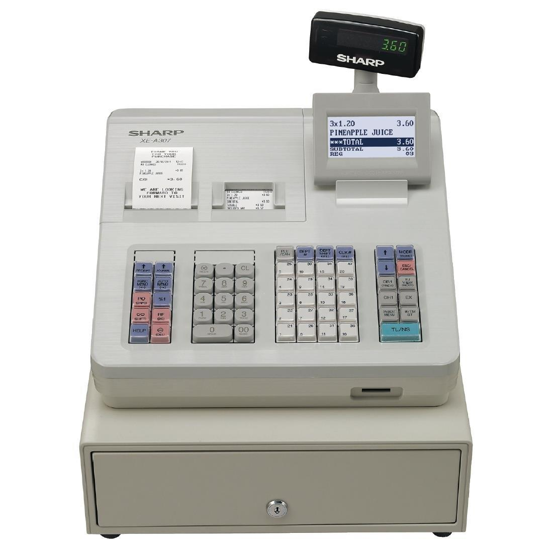 CF998 - Sharp XE-A307 Cash Register (Direct)