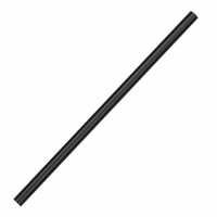 CT485 - Fiesta Green CPLA Cocktail Stirrer Straw Black - 140mm (Box 250)