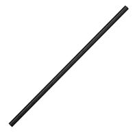 DE926 - Fiesta Green Paper Straw Black - 6mm (Box 250)