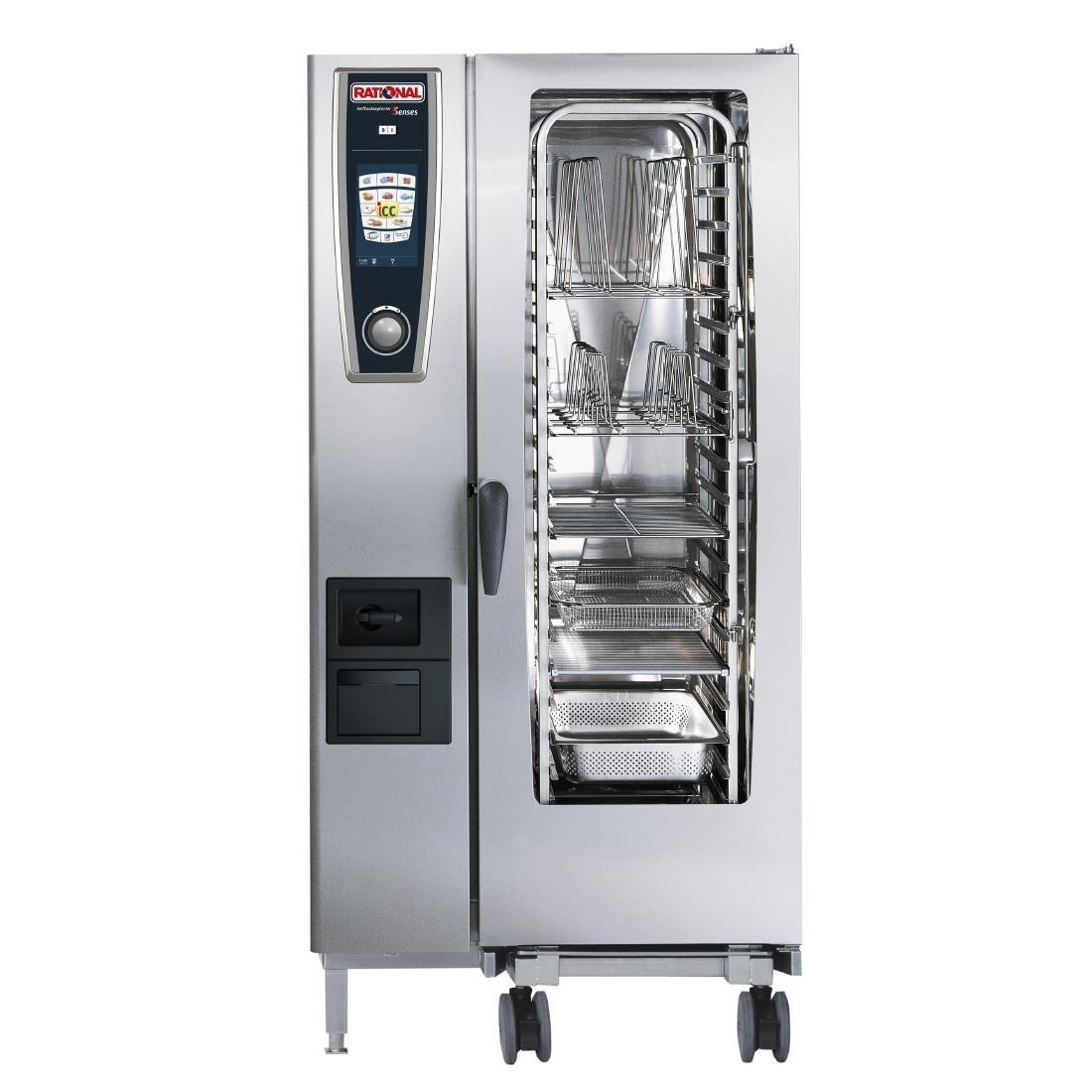GJ076 - Rational Self Cooking Centre White Efficiency 201 Electric (Direct)