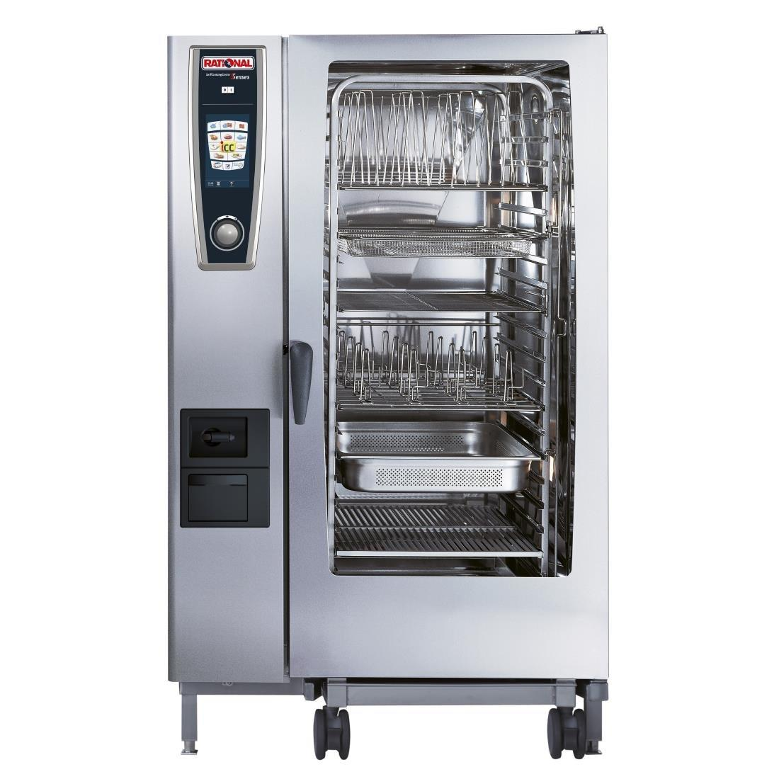 GJ078 - Rational Self Cooking Centre White Efficiency 202 Electric (Direct)