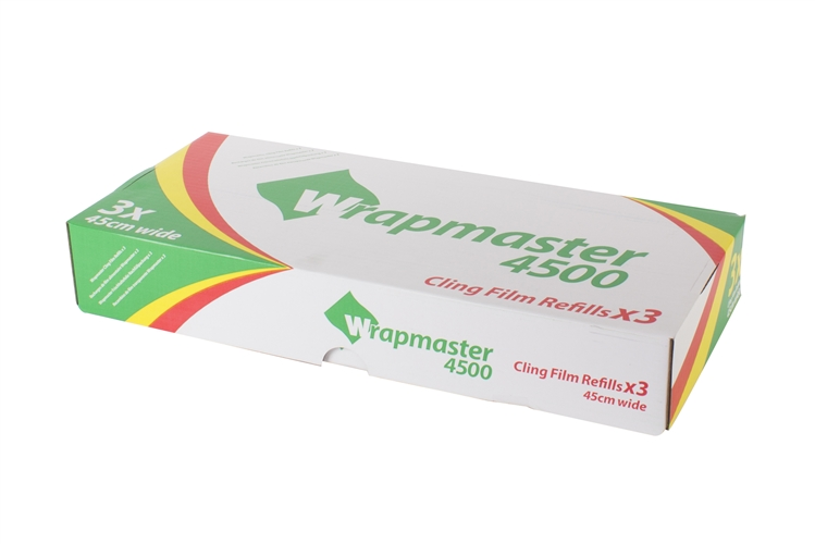 M810 - Wrapmaster Cling Film 460mm x 300m (Pack of 3)