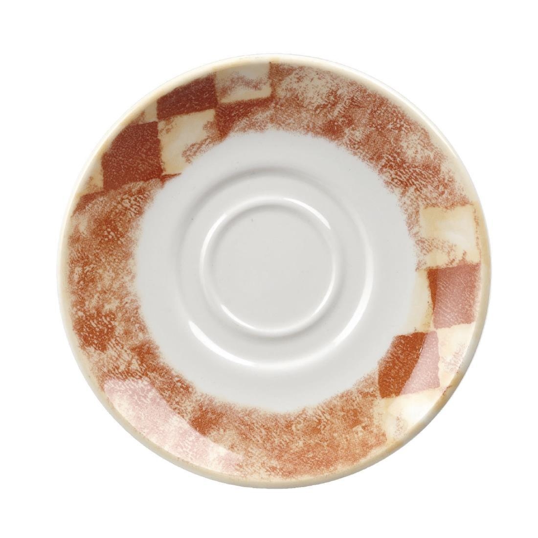 W064 - Tuscany Maple Saucer