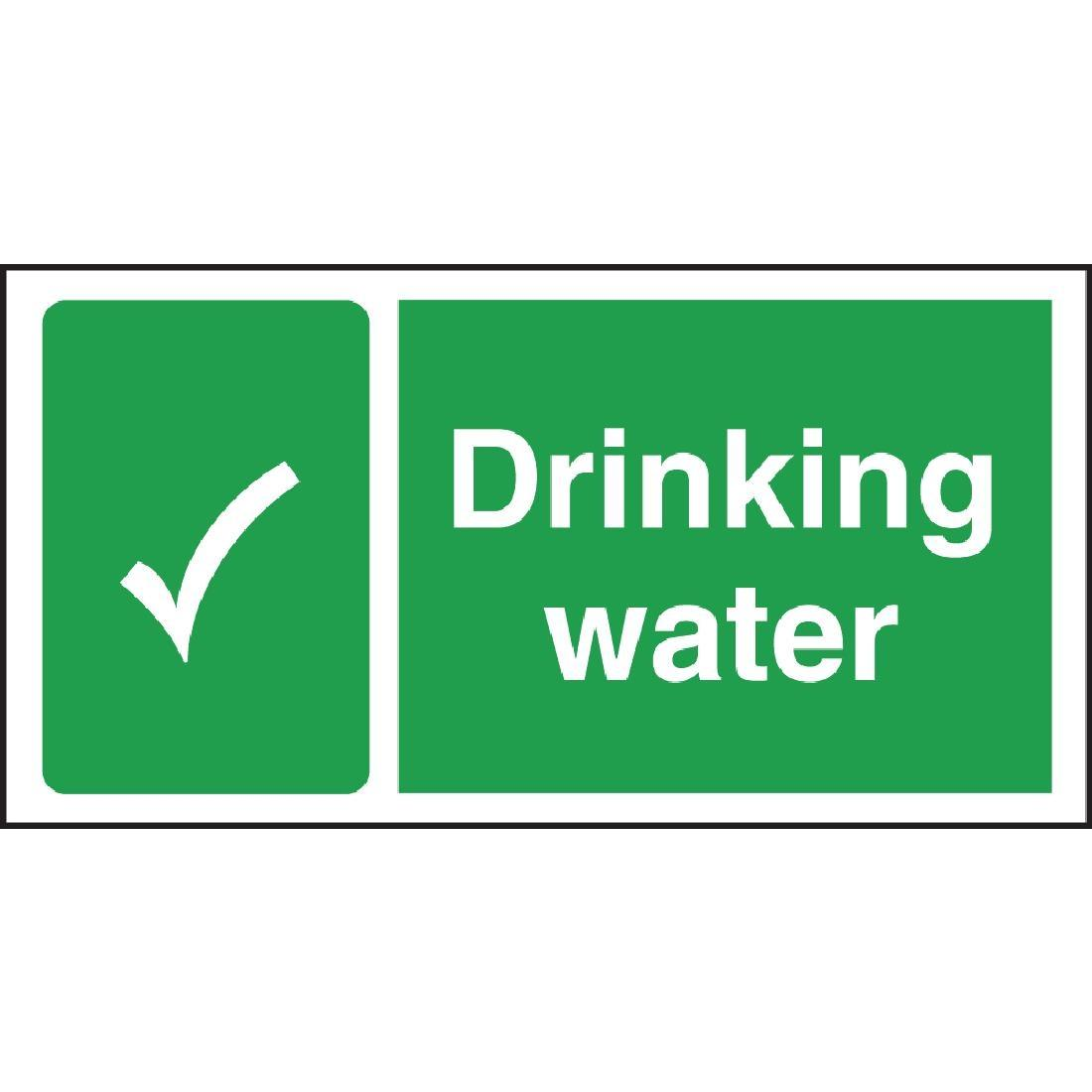 W194 - Drinking Water Sign