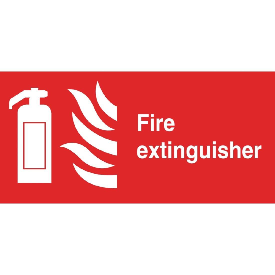 W226 - Fire Extinguisher Symbol Sign
