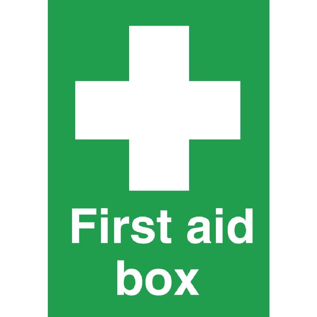 W315 - First Aid Box Symbol Sign