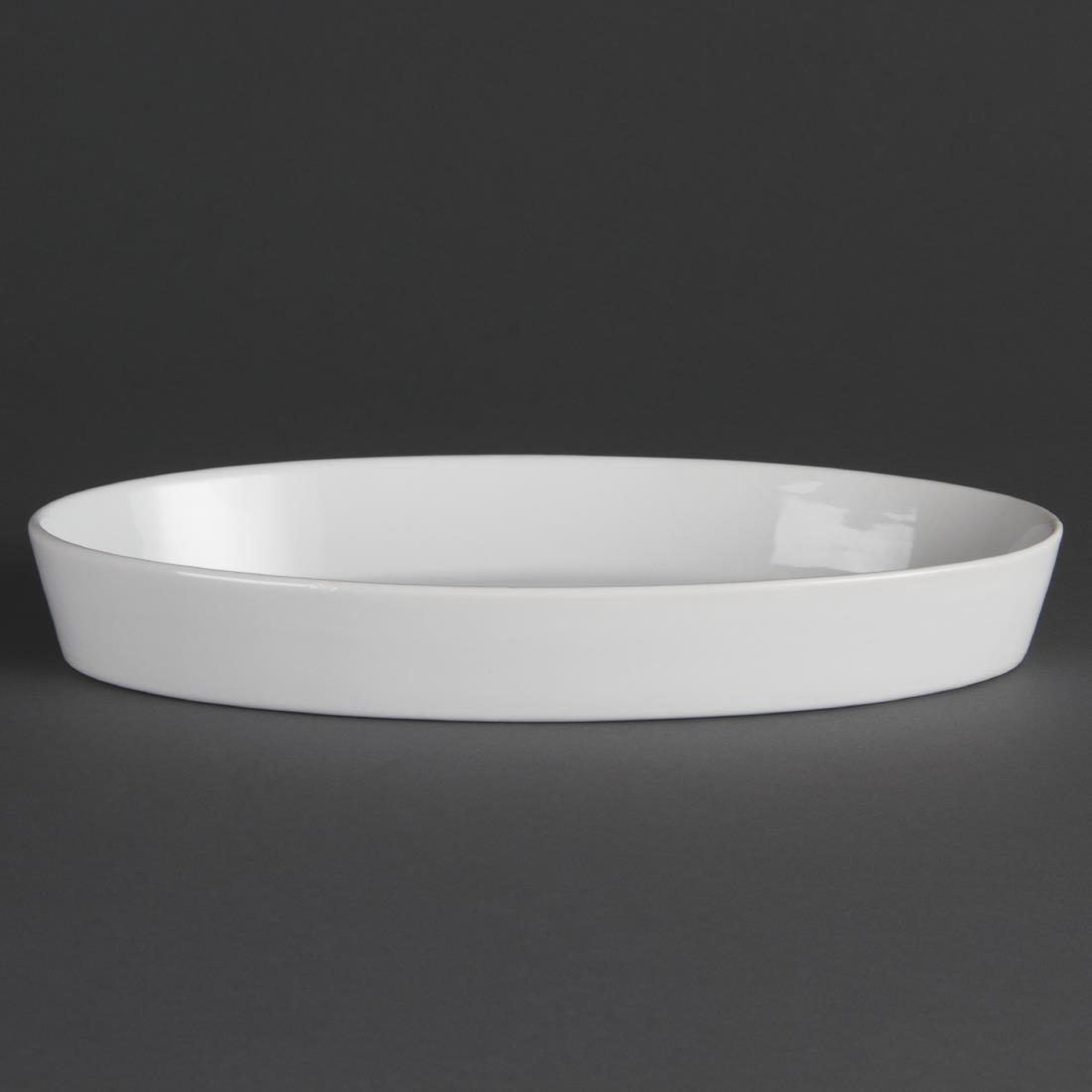 W409 - Olympia Whiteware Oval Sole Dish