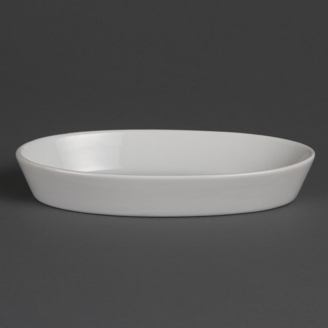 W418 - Olympia Whiteware Oval Sole Dish