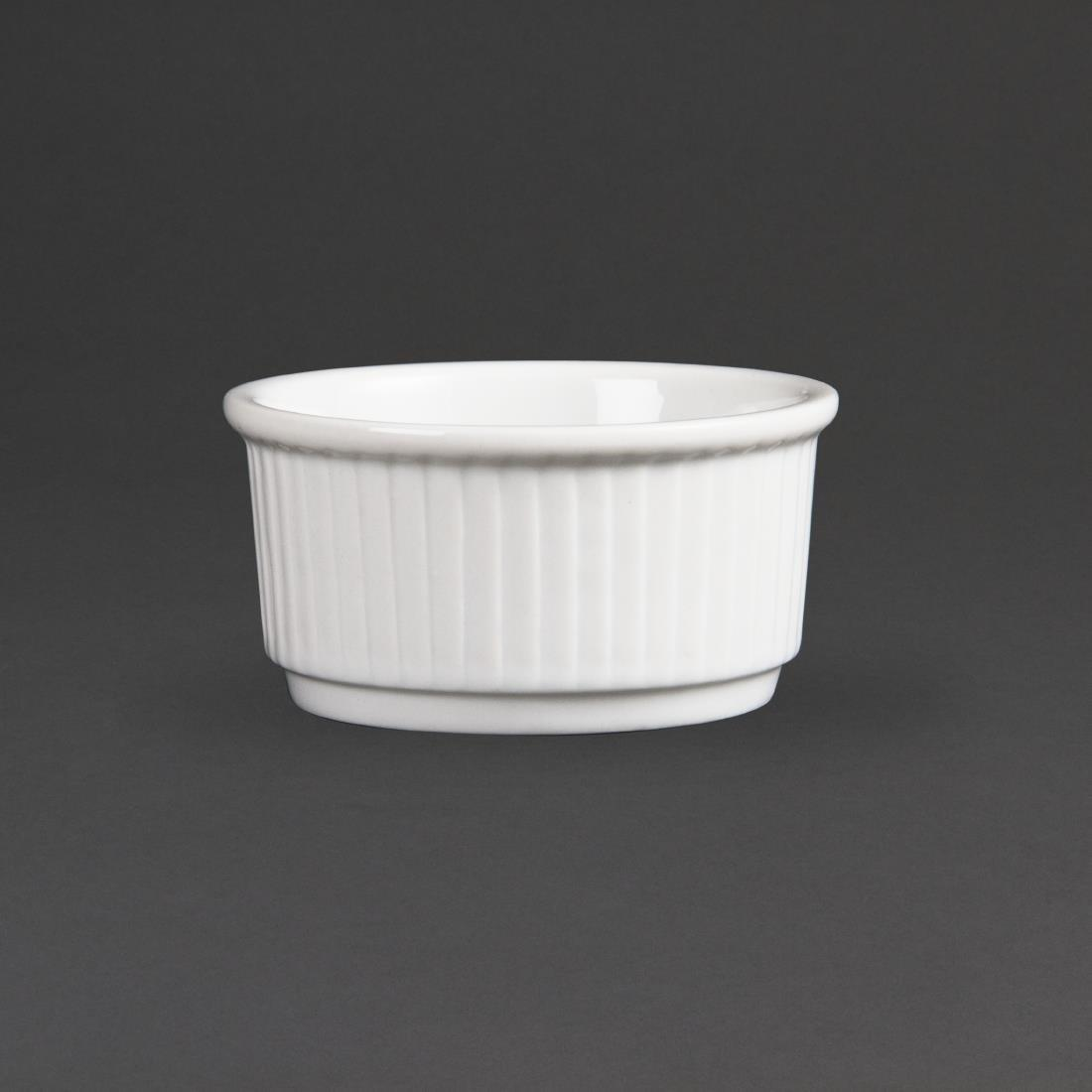 W421 - Olympia Whiteware Stacking Ramekin