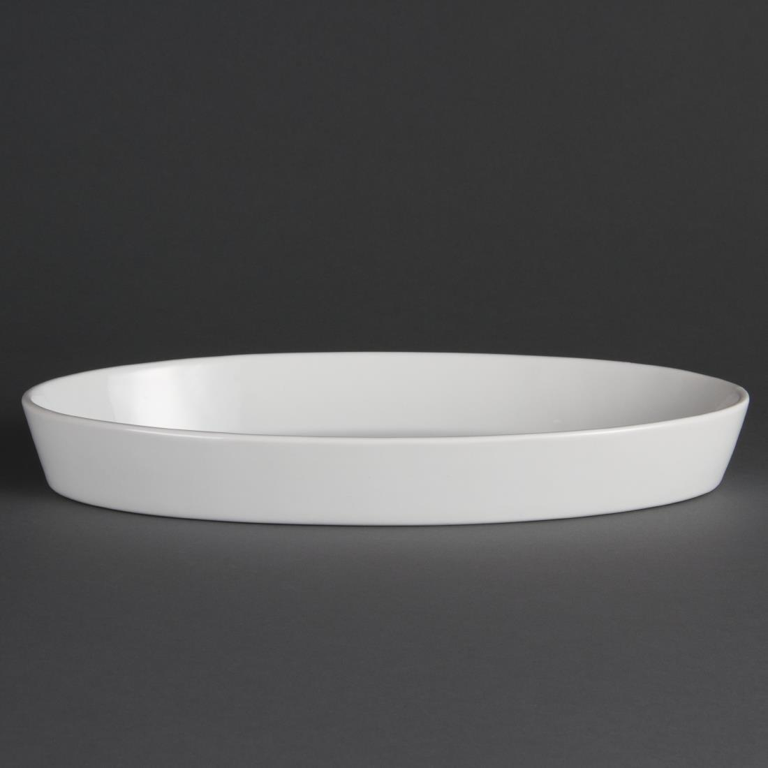 W422 - Olympia Whiteware Oval Sole Dish