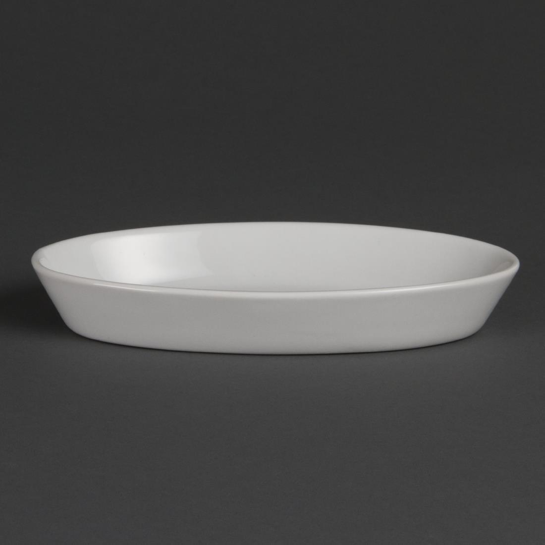 W434 - Olympia Whiteware Oval Sole Dish