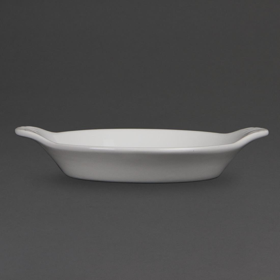 W439 - Olympia Whiteware Round Eared Dish