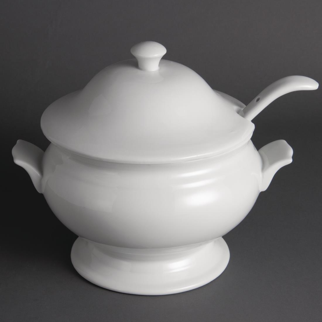 Y094 - Olympia Soup Tureen and Ladle