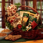 Sweets and Treats Gift Basket Medium - The perfect gift for a friend with a sweet tooth!  Large Size Shown