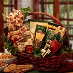 Sweets and Treats Gift Basket Small - The perfect gift for anyone with a sweet tooth!  Large Size Shown