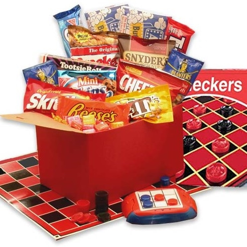 Game And Family Gift Basket Family Gifts