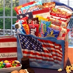 God Bless America Gift Box Md - Stars and Stripes Forever! Yummy!