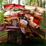 Camo Man Care Package - A Gift basket for hunters.