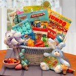 Disney Fun and Activity Easter Basket - Designed for Boys ages 4 thru 9. Features a combination of sweet treats and activities toys.
