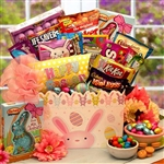 Hip Hops Easter Treats Gift Box  - Bunny, Treats and Activity Basket